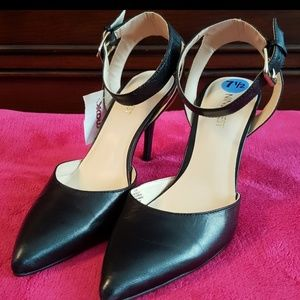 Nine West NW7 Ackley Leather Pumps